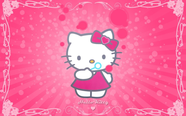 Cartoon Character Design For Tarpaulin : Hello kitty